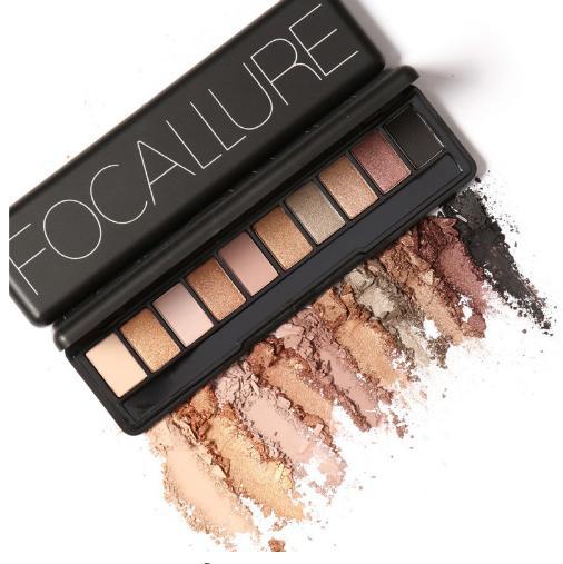 10 Cores Nuas Sombra Da Paleta Da Sombra de Olho Sombra Sombra para As Sobrancelhas Conjunto de Maquiagem Nude Eyeshadow Palette Maquiagem Maquiagem Cosméticos