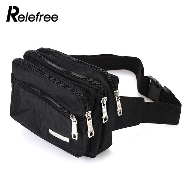 Oxford Cloth Sports Bag Adjustable Waist Pouch Fashion Run Running Bag Mobile Phone Camping