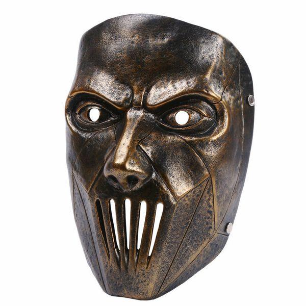 Résine Slipknot Masque Joey Cosplay Effrayant Masque Argent Halloween Masque De Partie Masquerade Costume Masques