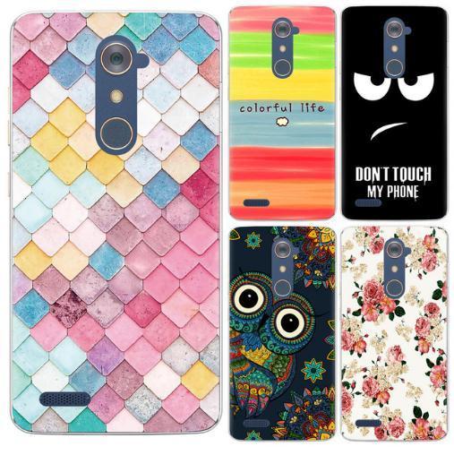 Neue Ankunfts-Telefon-Kasten für ZTE Blatt ZMAX Pro Z981 Z MAX 6-Zoll-Art- und Weiseentwurf Kunst gemalter TPU weicher Fall-Silikon-Abdeckung