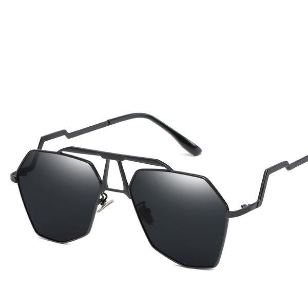 Marca de moda Mulheres Óculos De Sol Piloto Óculos de Sol Dos Homens Óculos de Espelho Feminino Masculino Armação De Metal Unisex oculos UV400 Óculos De Sol