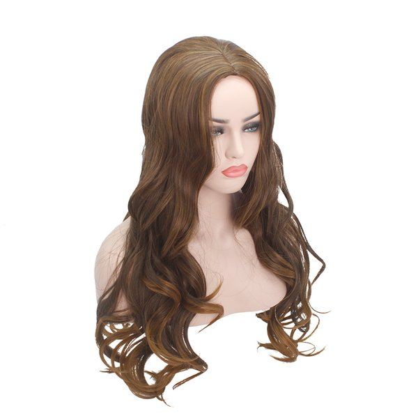 Fashion Loose Curly Wigs Spring Curly Wigs Synthetic Hair