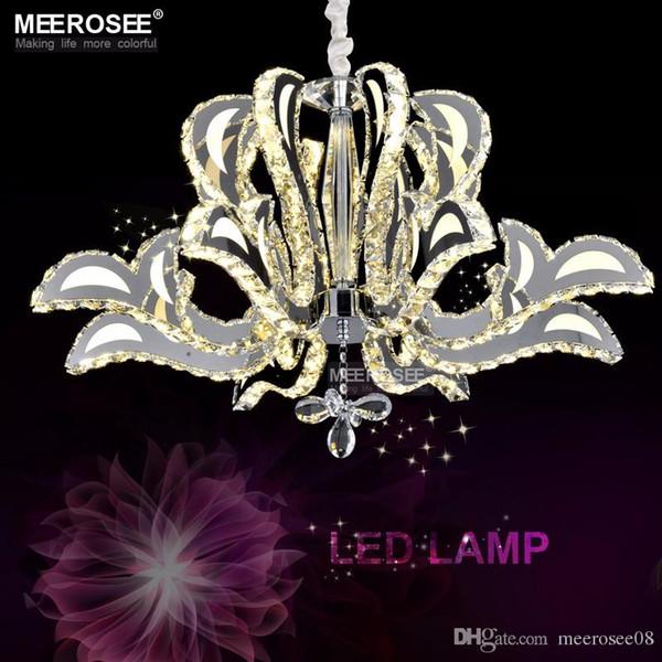 Luxuriöse Kristallleuchter LED Leuchte Blume Kristall Lampe für Esszimmer Lüster hängende Leuchte moderne Beleuchtung