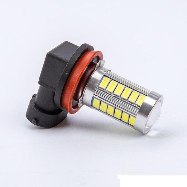 2XCar white H8 H11 9005 hb3 9006 hb4 h4 h7 hi/lo t20 5630 33SMD LED Fog Lamp drl Turning Parking Bulb DC12V