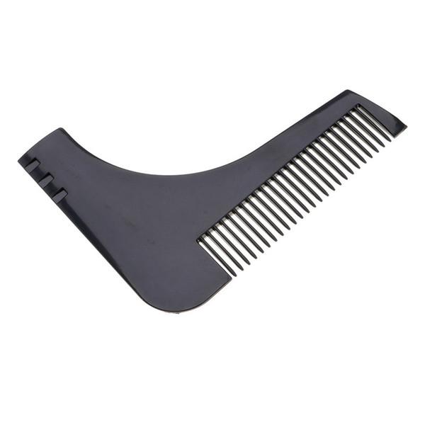 Hot Men Gentleman Facial Hair Beard Shaper Guide Template Combs Styling Accessories Trim Shaping Tool Lines Symmetry