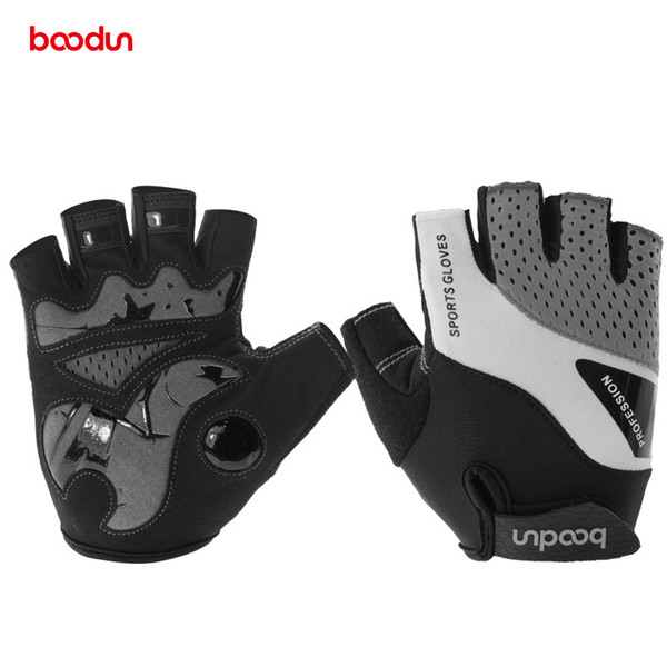 Mountain Biking Gloves with Bicycle Cycling Riding Half Finger Cycling Gloves Anti-slip Work Gloves Neoprener freeshipping