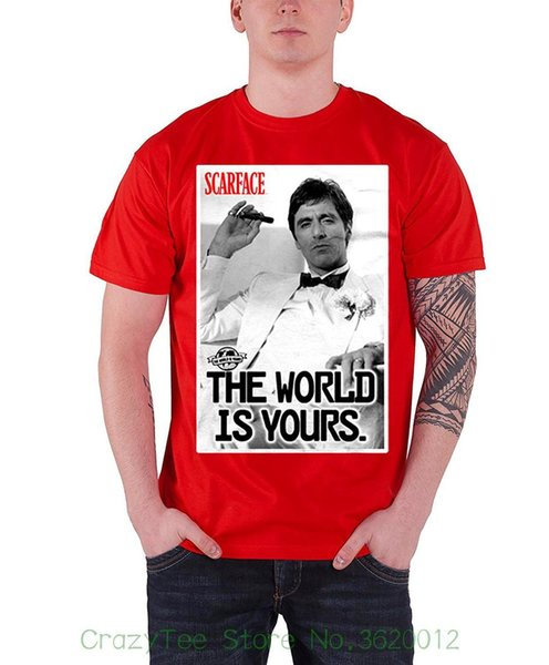Mans Scarface Classic Summer Short Sleeves Polo Tee