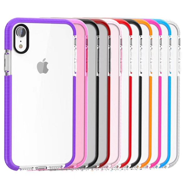 For iphone xr x max phone ca e tran parent tpu gel cry tal clear oft ilicon ca e back cover for am ung note 7 galaxy 7 6 clear ca e