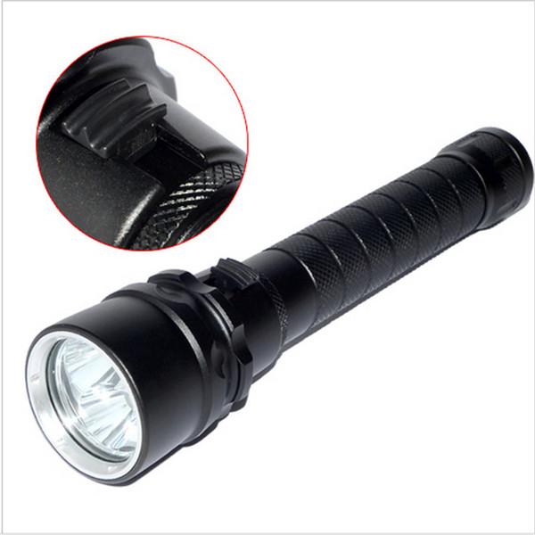 2017 4800lm 3 leds tauchen taschenlampe ip68 wasserdichte cree xm-l l2 u3 tauchen taschenlampen taschenlampe für unterwasser taucher beleuchtung