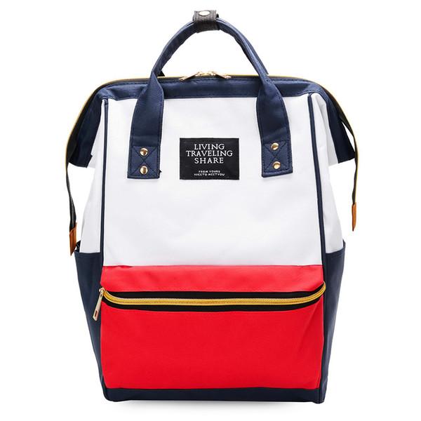 Rosa sugao 13 farben student tasche casual designer handtaschen pu-leder laptop rucksack tote umhängetasche frauen mit reißverschluss umhängetasche