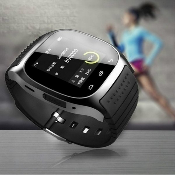 M26 Bluetooth Smart Watch Mobile Phone Watch Dial Phone Alarm Clock One-function Android Watch