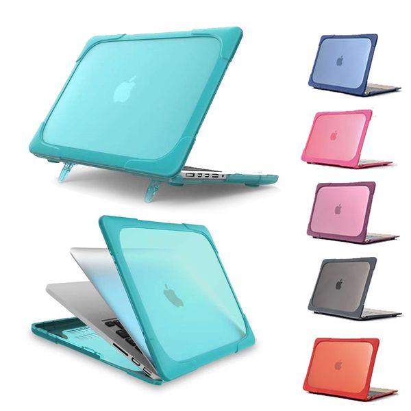 TPU hard shell Shock proof Anti Scratch Case For Apple Mac book Air Pro Retina 11 12 13 15 Laptop Cover For Mac book 13.3 inch 10pc