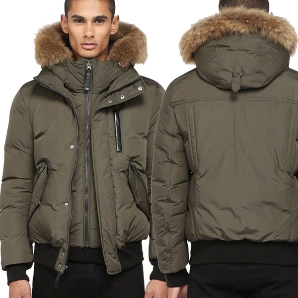 9a1be2f340f DHL Free Shipping Canada Luxury Winter Warm Brand Clothing Jackets Mac  Harvey-F4 Winter Down Bomber Jacket Thick Men s Down Jacket for Men