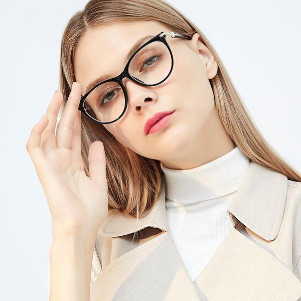 Vintage big box glass frame flat frames female full frame glasses joker ultralight can match myopic lens
