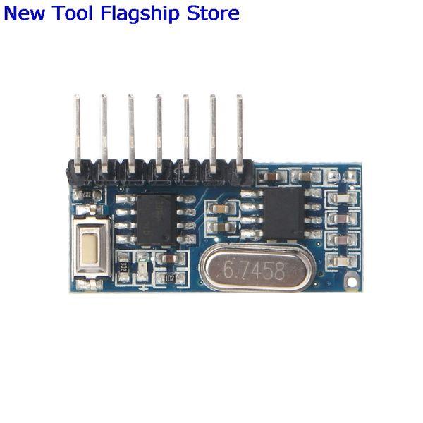 Compre 433 Mhz Código De Rf Módulo Receptor De Aprendizaje 1527 Decodificador Inalámbrico 4 Canal De Salida Para Control Remoto A 37 14 Del Burty