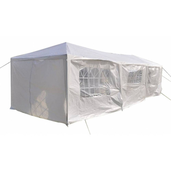 New Outdoor Eight Sides Two Doors Two Bedrooms Waterproof Foldable Tent Steel Bracket for Household wedding party