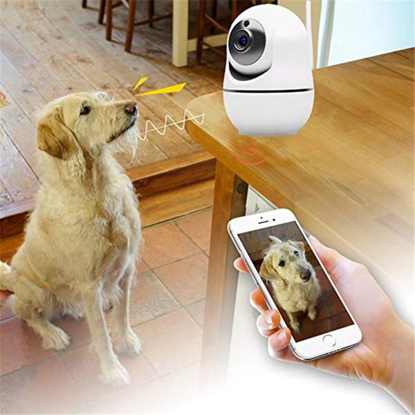 Câmera IP sem fio Wi-Fi 1080P HD Pan Tilt (visão diurna / noturna, Áudio de 2 vias, Mobile Android / iOS / iPhone / iPad / Tab