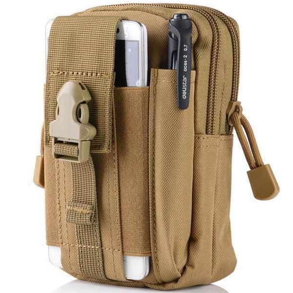 Outdoor Tactical Molle Bloco de Fanny Utility Militar Belt cintura pack Bag Pouch bolso Hip Bum sacos de telefone capa para Samsung Galaxy Iphone LG
