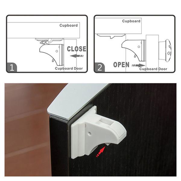 NEW 20X Baby Child Box Drawer Cupboard Cabinet Wardrobe Door Safe Safety Lock