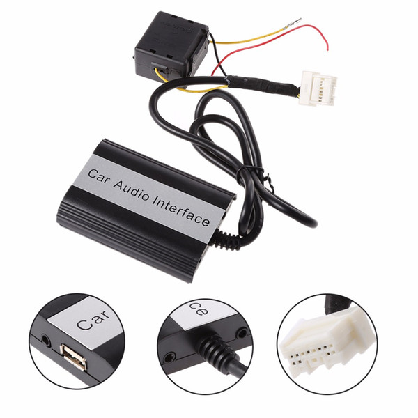Car Bluetooth Kits MP3 Player AUX Adapter Interface Wireless Music Receiver For  for Infiniti 2000-2010 C45