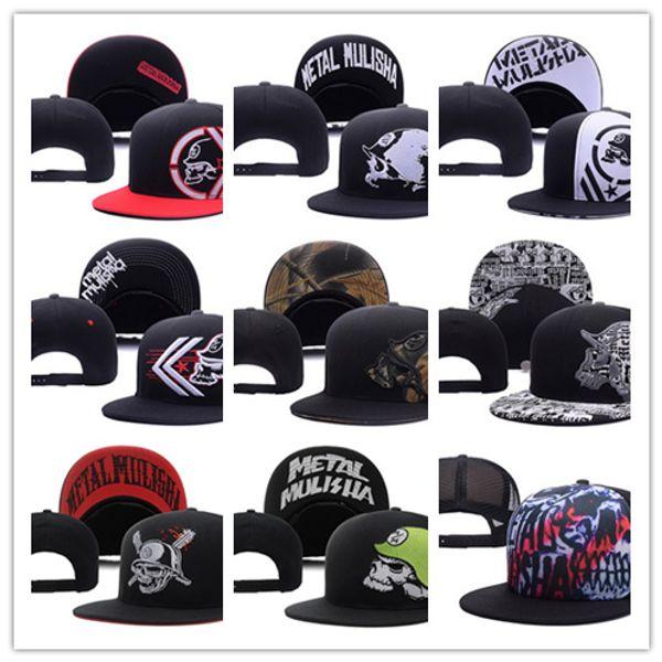 2018 NUEVO Party Trucker Snapback Hat Black cool Sports Hats gorras, hombres al por mayor Moda Ajustable Snapbacks Cap Hat bola Hat cap