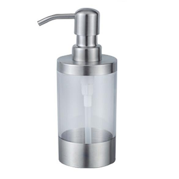 230ml Stainless Steel Liquid Soap Dispenser Kitchen Sink Detergent Bath Liquid Pump Head Bottle Bathroom Lotion Pump