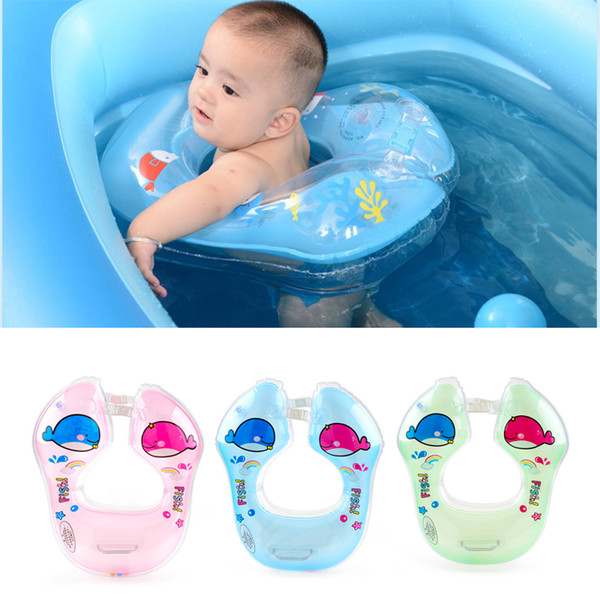 Baby Inflatable Swimming Ring Float Swimtrainer Floating Swim Accessories Life Vest Funny Pool for age 6 months to 4 years Baby
