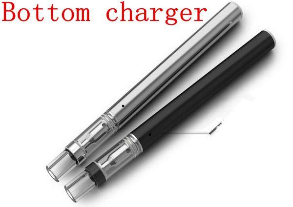 Micro USB Ladegerät Knospe Stift e Zigarette Kit Einweg Keramikspule Patrone Rauchen Stift nachfüllbar Keramik Glas Öl Zerstäuber e Zigarette