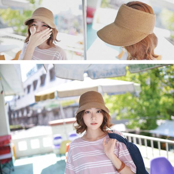 Chapeau de golf en paille de soleil