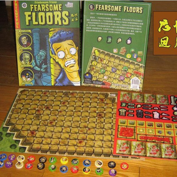 Horror Desktop Games For Fearsome Floors Board Game Cards Family Members Party Funny Project Gift Easy To Play 20 5cj YY