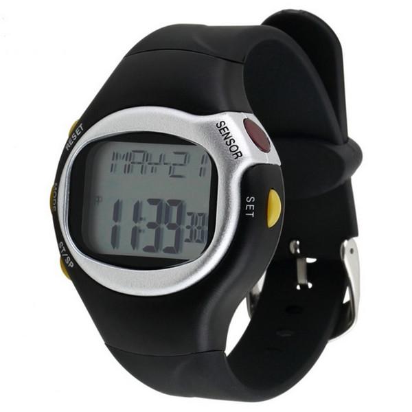 1pc Guarda la quarta generazione di multifunzione digitale Touch sensor Pulse Cardiofrequenzimetro Guarda Sport all'aria aperta Reloj hombre