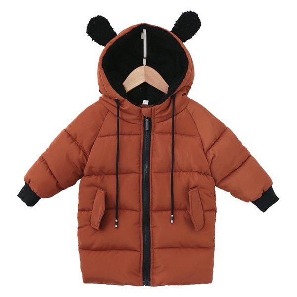 Kids Toddler Boys Coat & Jackets for Children Outerwear Clothing Casual Baby Girls Clothes Autumn Winter Parkas