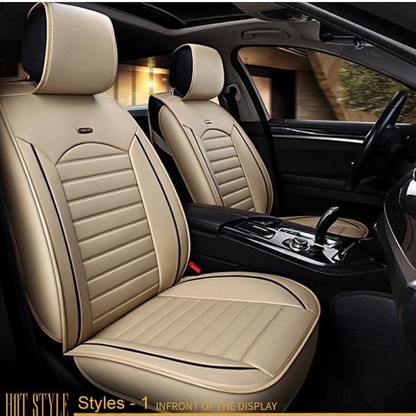 Incredible Car Seat Covers Universal Pu Leather Auto Front Back Seat Covers For Hyundai Solaris Ix35 I30 Ix25 Elantra Accent Tucson Sonata Seat Cushion Canada Cjindustries Chair Design For Home Cjindustriesco
