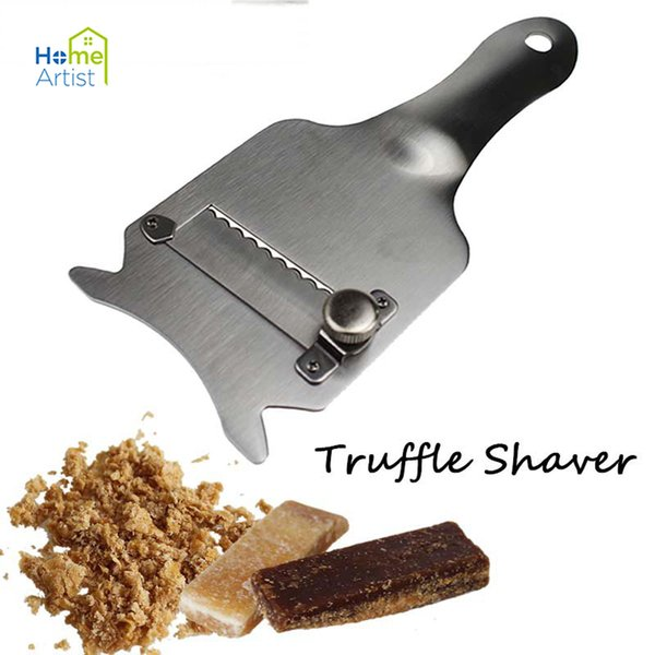 Trüffel Slicer Edelstahl Schokolade Trüffel Rasierer Messer Trüffel Slicer Reibe Cutter Metall Schokolade Rasierer Küche