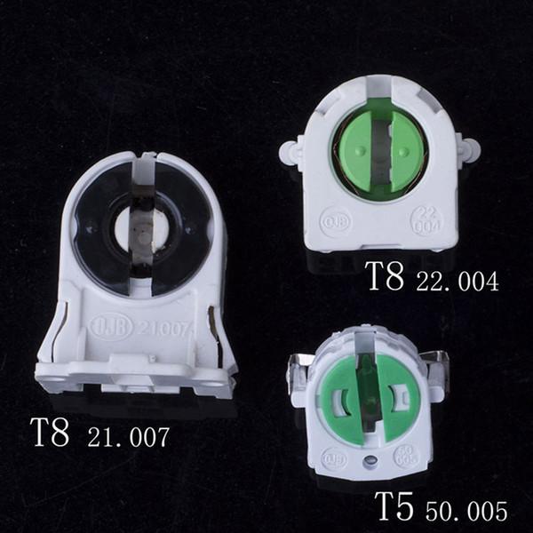 T4 T5 Lamp Base T8 Fluorescent Lamp Holder Test Aging Display Light Socket Types for Grille Lamp