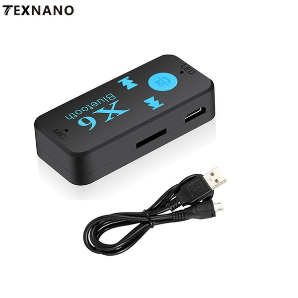 Wireless Bluetooth Aux Kit mini adapter bluetooth transmitter microphone For Speaker Headphone MP3 Player Car Adapter