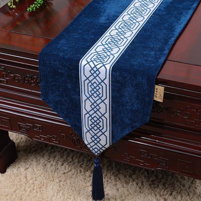 королевская синяя кружевная сетка 150x33 см