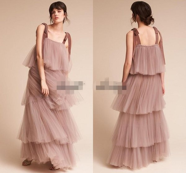 Vintage Great Gatsby Blush Nude Evening Party Dresses 2018 Modest ...