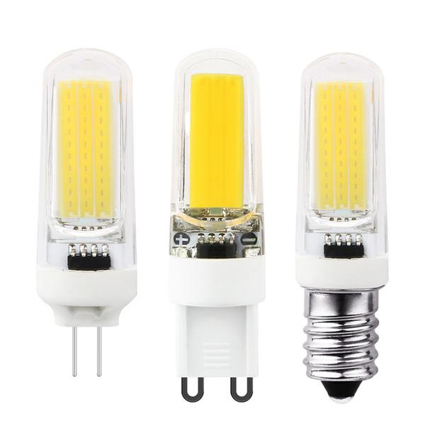Mini LED Bulb 6W COB LED Lamp G4 G9 E14 AC 220V lampada replace Halogen Spotlight Chandelier