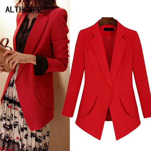 XL-5XL Plus Size Blazer Mujer Office Lady Women Blazers and Jackets Casual Small Suit Jacket Slim Thin Overalls Ladies Blazer
