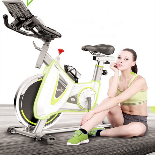 Good Quality Fitness Equipment Exercise Bicycles Upright Belt Drive Indoor Cycle Spin Bike Dynamic Cycling Silent Gym