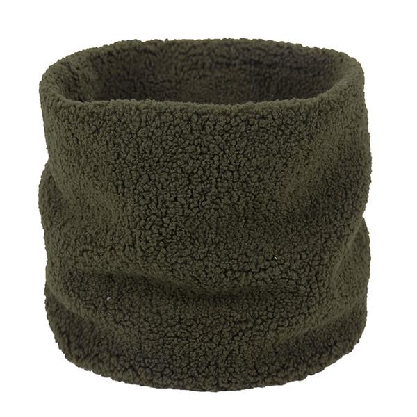 Men Women Snood Scarves Faux Fur Fleece Ring Tube Scarf Neck Warmer Neckerchief Warm Winter Unisex Scarf Fashion Snood Scarves