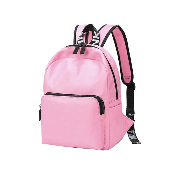 2018 Pink Backpack Teenager School Bags Student Large Double Shoulder Bag Fashion Travel Storage Backpack Large Capacity Backpack