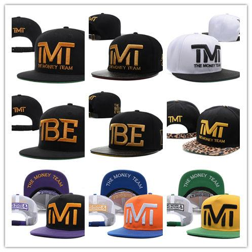 Hot Style Good Quality Wholesale-Full black the team money Snapback caps hiphop adjustable hat men & women classic baseball Hats Cheap