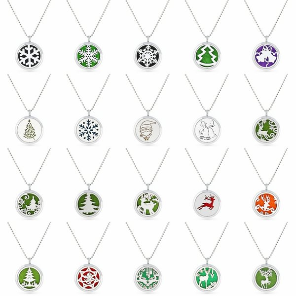 B4 Perfume Aromatherapy essential oil Diffuser Locket 30mm Floating locket pendant (Felt Pad randomly freely) as gifts