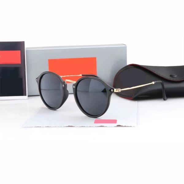4feb751799 Top Quality New Fashion Sunglasses For Man Woman Erika Eyewear Designer  Brand Sun Glasses Matt Leopard Gradient UV400 Lenses Box and Cases