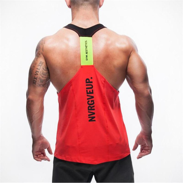 Sommer Marke Kleidung Herren Tank Tops Stringer Bodybuilding Fitness Absorbieren Schweiß Atmen Männer Tanks Kleidung Singuletts