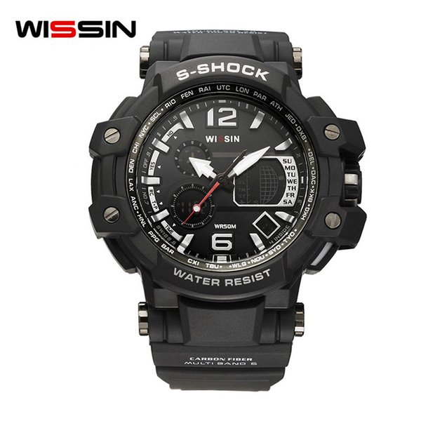 WISSIN Sport Relogio Digital Watch Men S Amry Waterproof Clock Led Display Mens Watches Wristwatch Swim montre homme