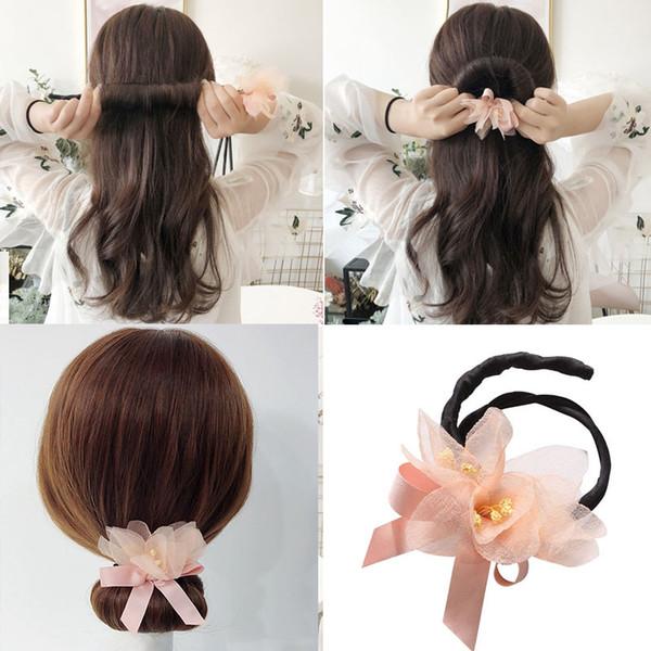 Frisuren mit blumchen haarband