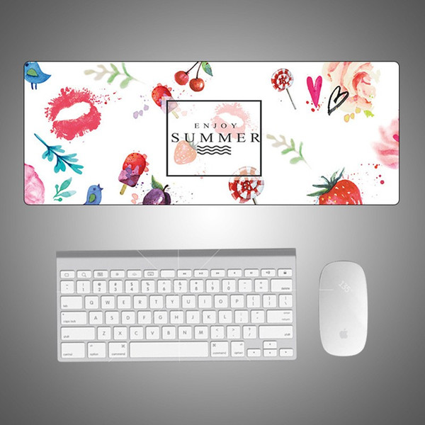 Hot Sales Speed Version Large Gaming Mouse Pad Mat For Laptop Computer Desk Pad Keyboard Creative Cute Trend Hand Drawn